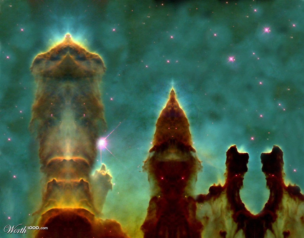 Eagle Nebula Pillars Of Creation Wallpaper (page 2) - Pics ...