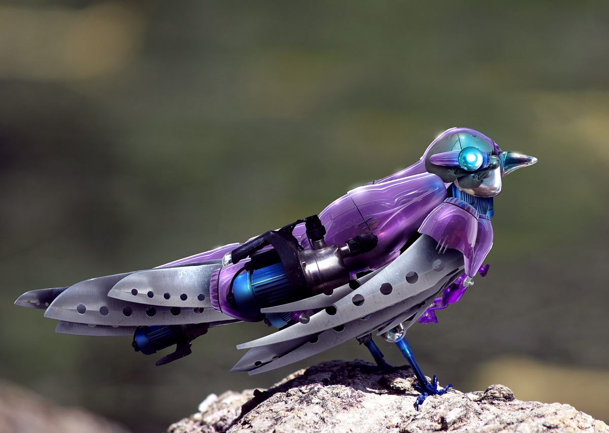 Deviantart Robot Animals: This Photoshop Contest Is Now Closed. 13 Creatives