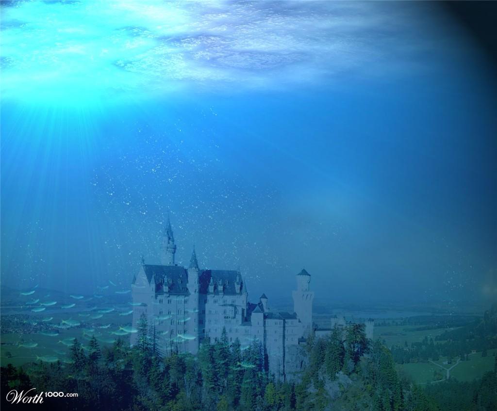 Minecraft Underwater Castle Related Keywords - Minecraft ...