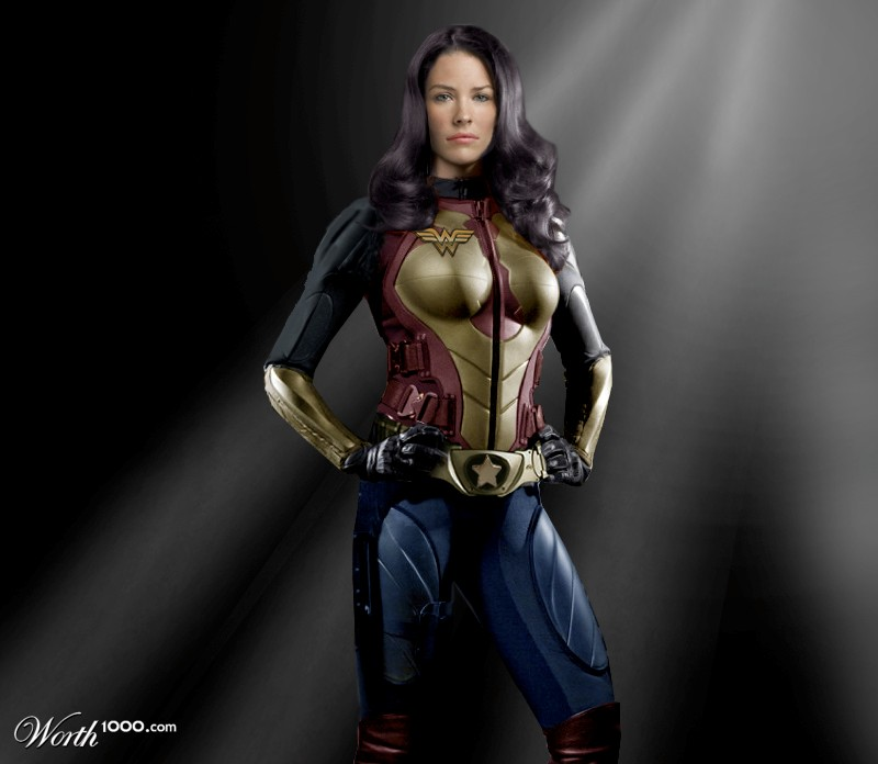 Modern Wonder Woman - Worth1000 Contests