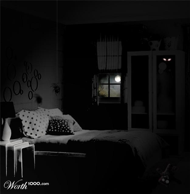 dark creepy bedroom images galleries with a bite. Black Bedroom Furniture Sets. Home Design Ideas