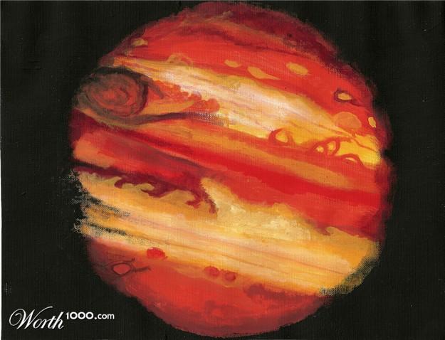 planet jupiter sytrofoam model - photo #32