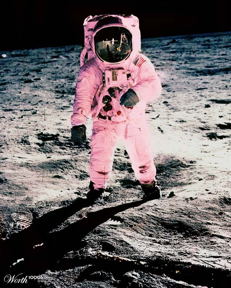 Real Pink Astronaut - Pics about space