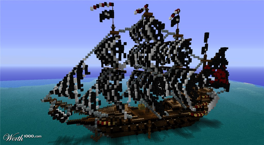 pirate ship minecraft